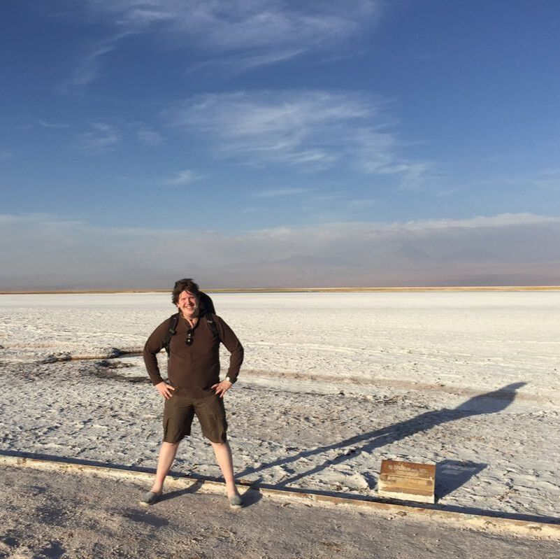 Out on the Salt Flats, Salt Encrusted Shoes and All